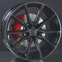 Vossen Hf3 Double Tinted Gloss Black 8,5x20