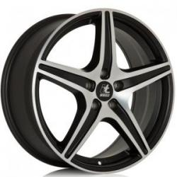 It Wheels Gabriella Matt Black Polished